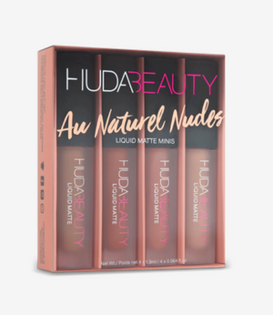 Liquid Matte Minis- Au Naturel Nudes