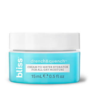 Drench & Quench Cream-to-water Hydrator for All Skin Types- 15 ml