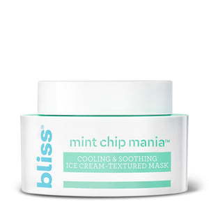 Mint Chip Mania Cooling & Soothing Ice Cream-Textured Mask