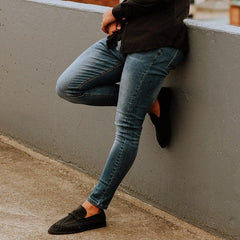 Stretch Jeans for Muscular Legs