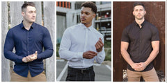 Dress Shirts for Athletes, Muscular Guys and Bodybuilders | Kojo