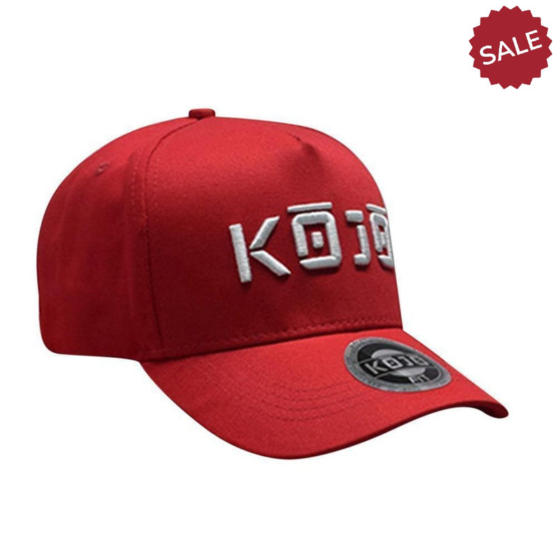 Mens Cherry Red Gym Hat