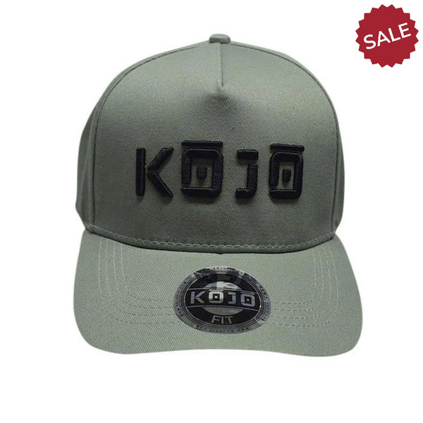 A Frame Baseball Cap - Green - Kojo Fit