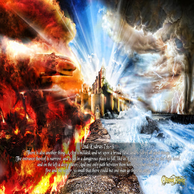 "THE NARROW PATH ""2ND ESDRAS 7"" POSTER"