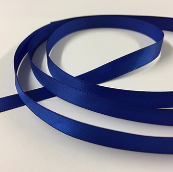 ROYAL BLUE SATIN RIBBON