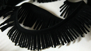 1 INCH SUEDE FRINGES (2 YARDS)