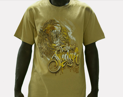 TRIBE OF JUDAH FRINGED T-SHIRT