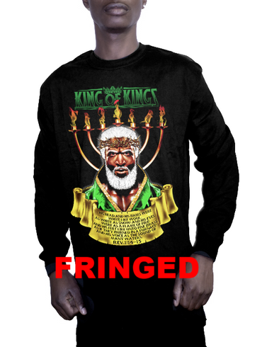 KING OF KINGS FRINGED LONG SLEEVES