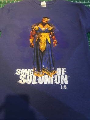 SOLOMON FRINGED T-SHIRT