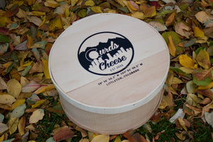 Curds Round Wooden Gift Box