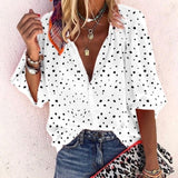 Sexy Button Down Long Sleeve Blouse - Available in Plus Sizes