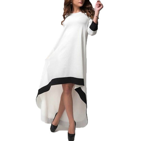 Maxi Party Asymmetrical Dress