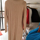 Long Knitted Sweater - Available in Plus Sizes
