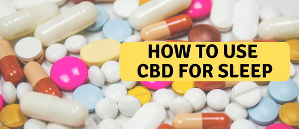 CBD capsules for sleeping