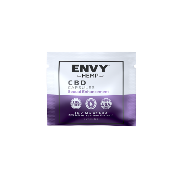 Sexual Enhancement CBD Capsules -CBD Envy Hemp