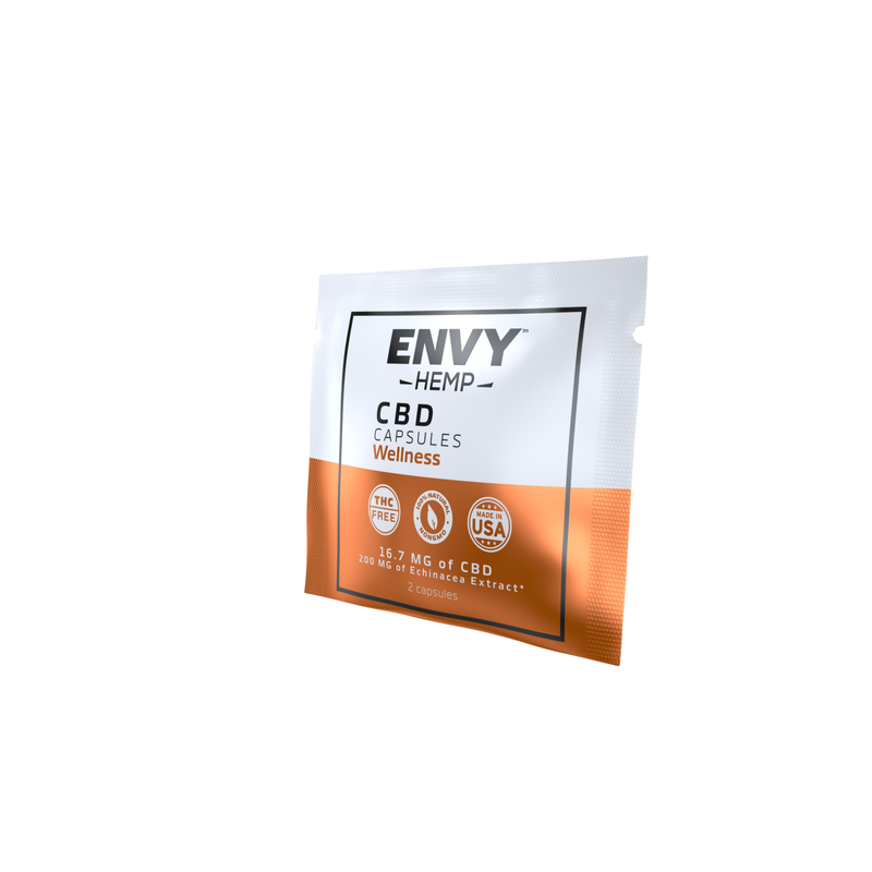 Wellness CBD Capsules -CBD Envy Hemp
