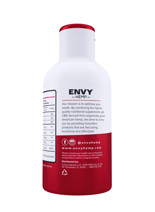 Energy CBD Shot -CBD Envy Hemp