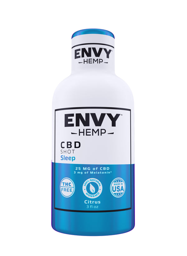 Sleep CBD Shot -CBD Envy Hemp