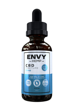 Sleep Water-Soluble CBD Tincture -CBD Envy Hemp