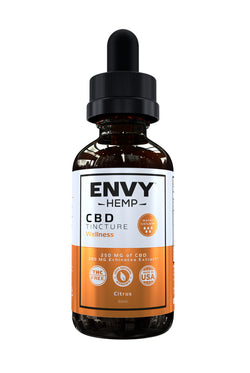 Wellness Water-Soluble CBD Tincture -CBD Envy Hemp