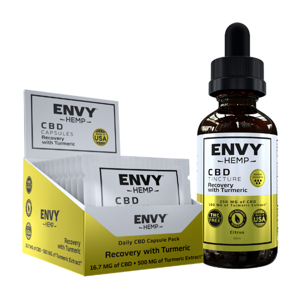 Recovery On-The-Go Bundle Envy Hemp