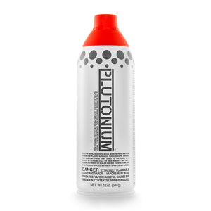 Red Alert PLUTON-100900 Ultra Supreme Professional Spray Paint, 12-Ounce
