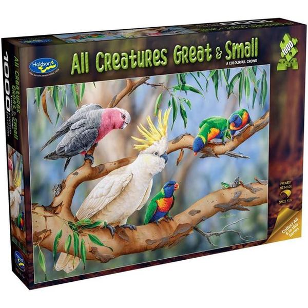 Holdson All Creatures Great and Small Birds 1000pc Puzzle