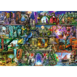 Ravensburger - Myths and Legends 1000 pieces