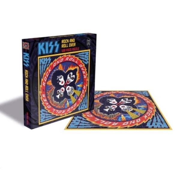 Kiss - Rock and Roll Over 500pc Puzzle