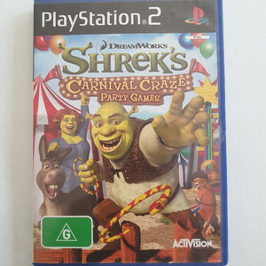 Shreks Carnival Craze Party Game