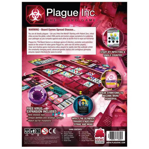 Image of Plague Inc the Board Game