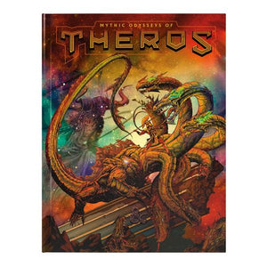 D&D Mythic Odysseys of Theros Alternate Art