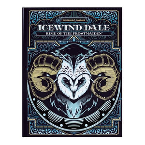 D&D Icewind Dale: Rime of the Frostmaiden Alternate Cover