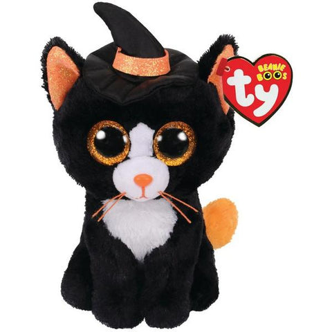Beanie Boo Halloween Cat with Hat 2020 Regular