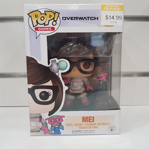 Overwatch - Mei Snow Plum Pop! Vinyl