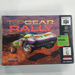 Top Gear Rally - Boxed Edition