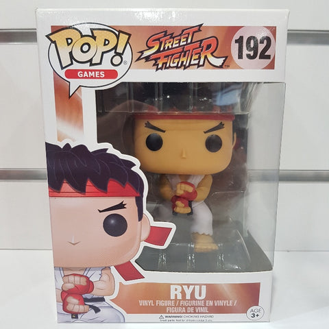 Street Fighter - Ryu (Special Attack) US Exclusive Pop! Vinyl