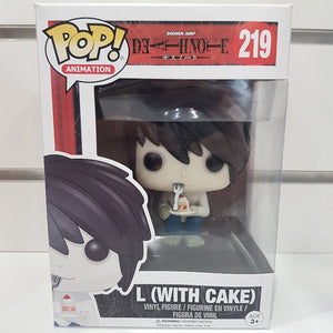 Death Note - L (with Cake) US Exclusive Pop! Vinyl