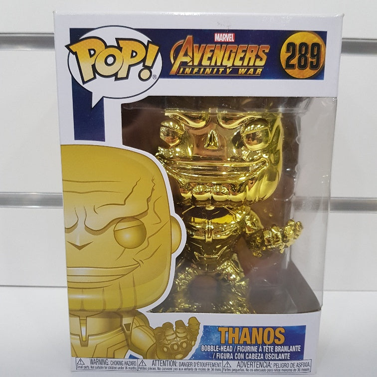 Avengers 3: Infinity War - Yellow Chrome Thanos Pop! Vinyl