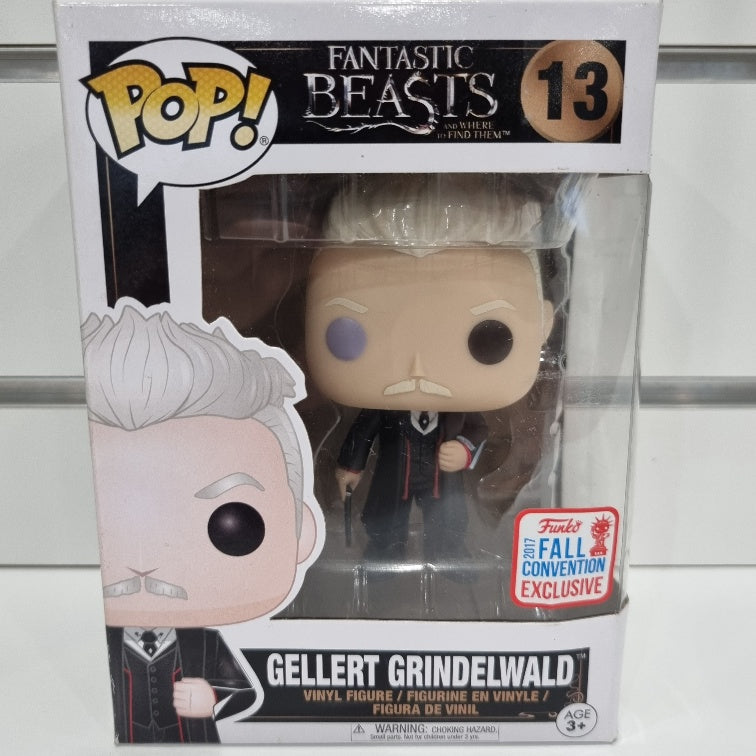 Fantastic Beasts and Where to Find Them - Gellert Grindelwald NYCC 2017 US Exclusive Pop! Vinyl
