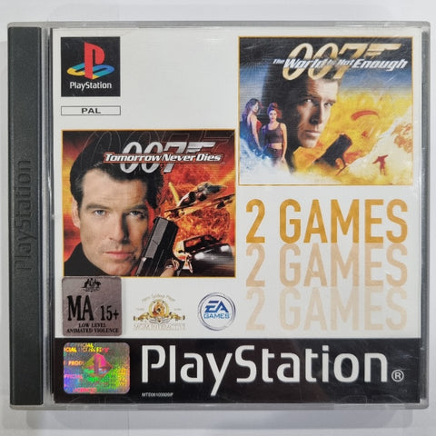 007 Double Pack: Tomorrow Never Dies - The World is Not Enough