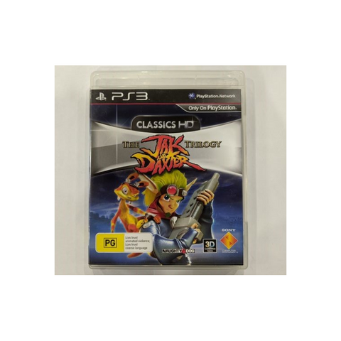 Jak and Daxter Trilogy HD