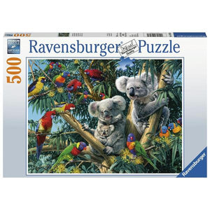 Ravensburger - Koalas in a Tree 500 pieces Puzzle