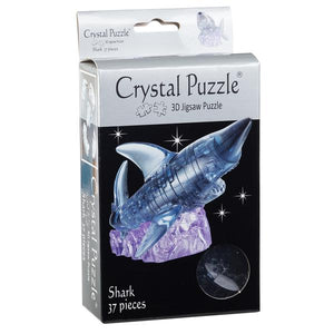 3D Crystal Black Shark Puzzle
