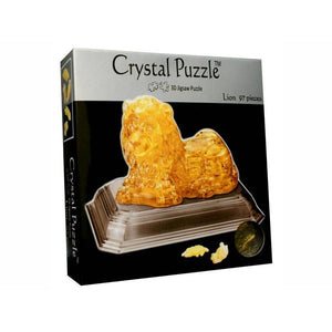 3D Crystal Lion Puzzle