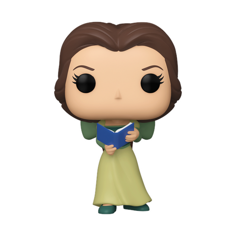 Beauty and the Beast – Belle in Green Dress w/ Book ECCC 2021 US Exclusive Pop! Vinyl