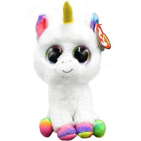 Beanie Boos Pixy White Unicorn - Regular Size