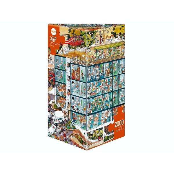 HEYE Loup, Emergency Room 2000pc Puzzle