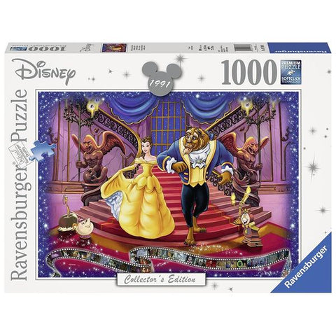 Ravensburger Disney Moments - 1991 Beauty and The Beast 1000pc Puzzle