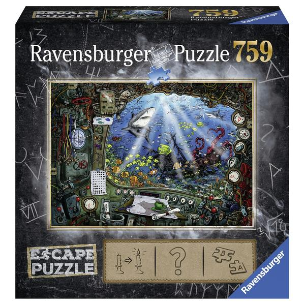 Ravensburger Escape 4 Submarine 759pc Puzzle